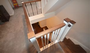 custom joinery wooden staircase