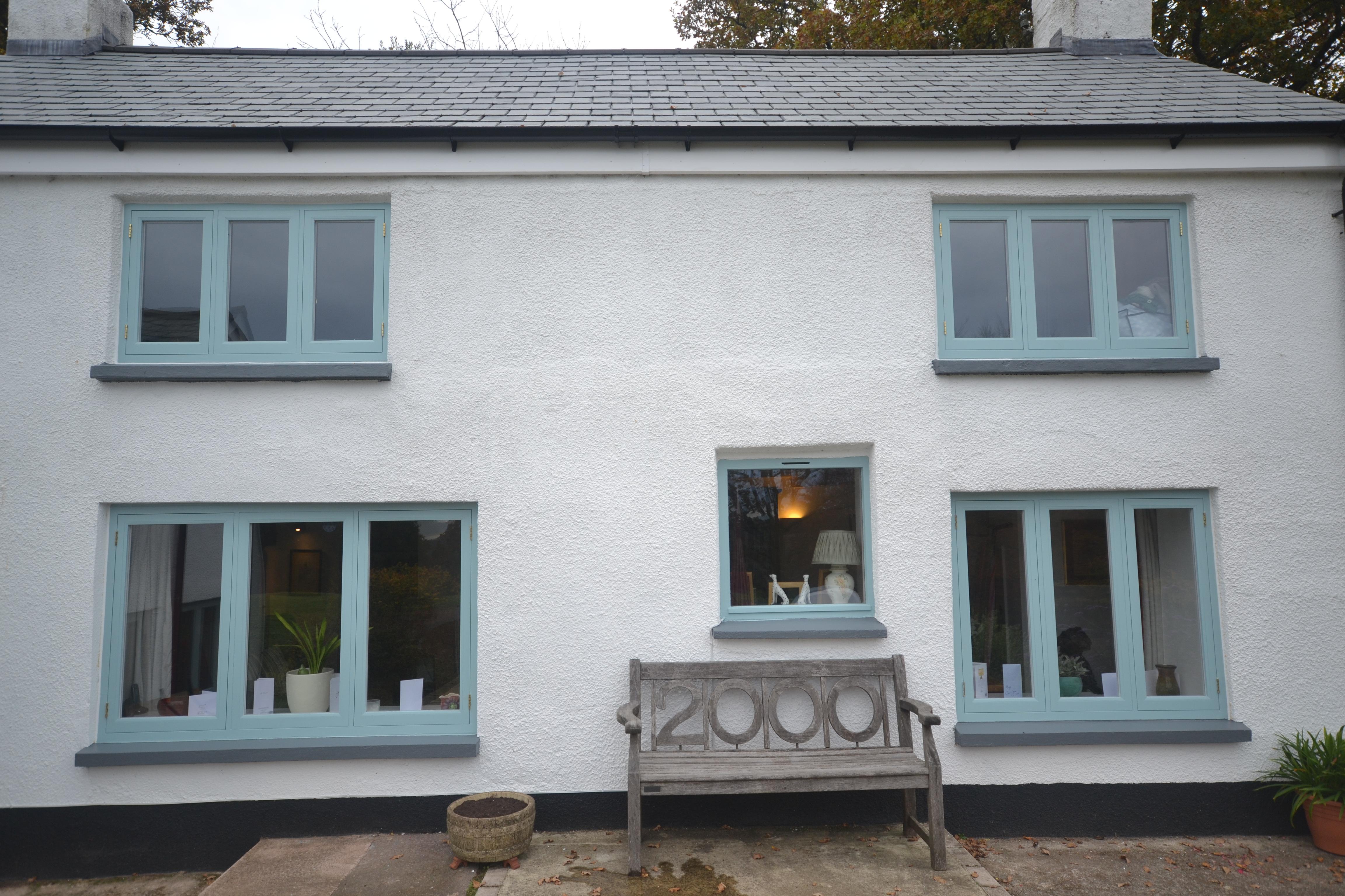 Custom flush casement windows for west country home jla for Custom house windows
