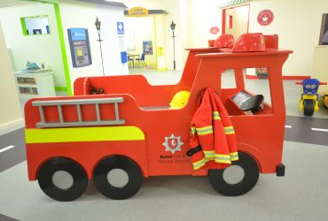 Bespoke Wooden fire engine