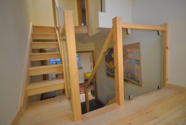 Handmade pine staircase chichester