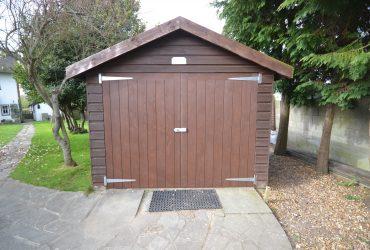 Bespoke pine garage doors chichester