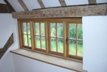 bespoke wooden windows for listed building