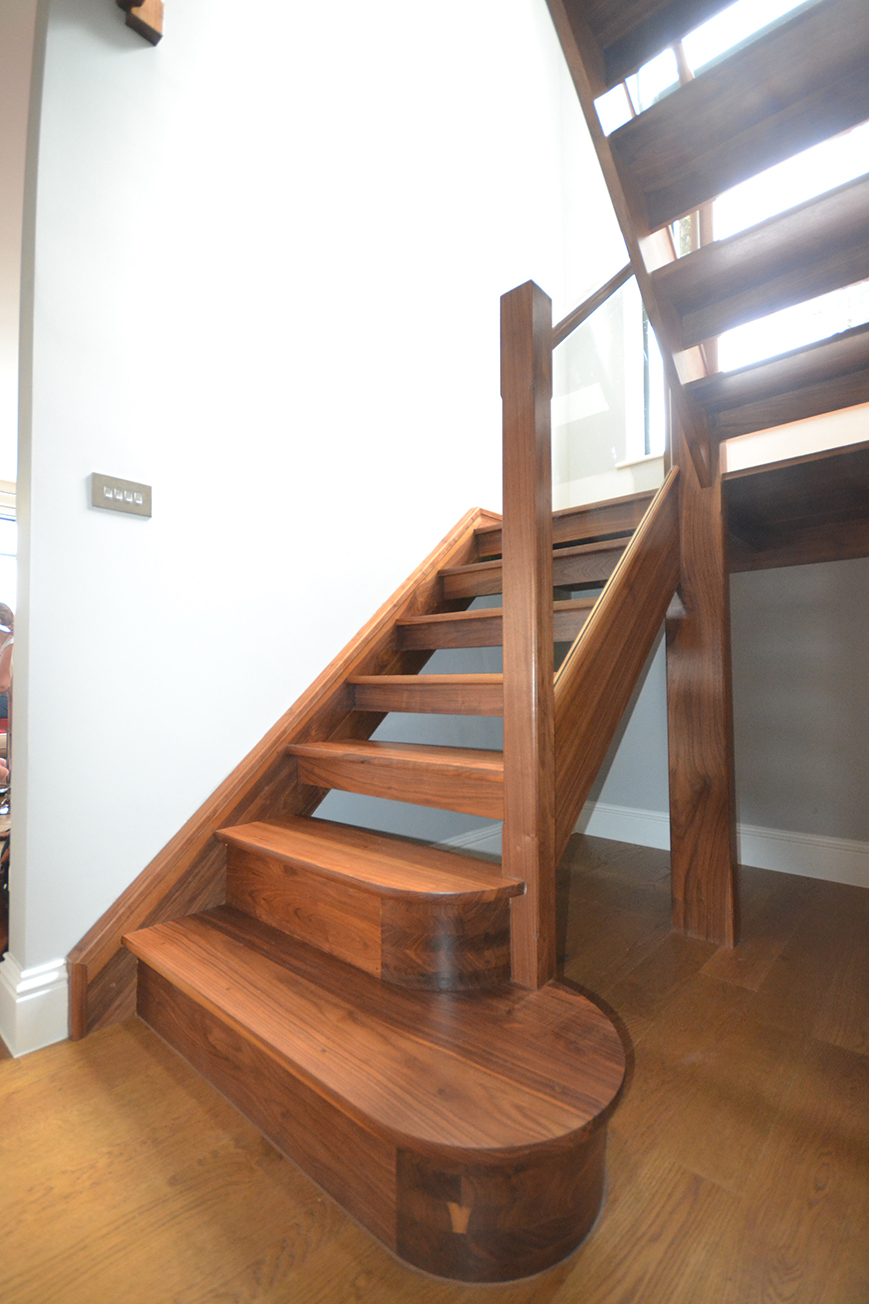 Home 5 Staircase Designs That Maximise Natural Light U Shaped Oak Staircase  West Sussex
