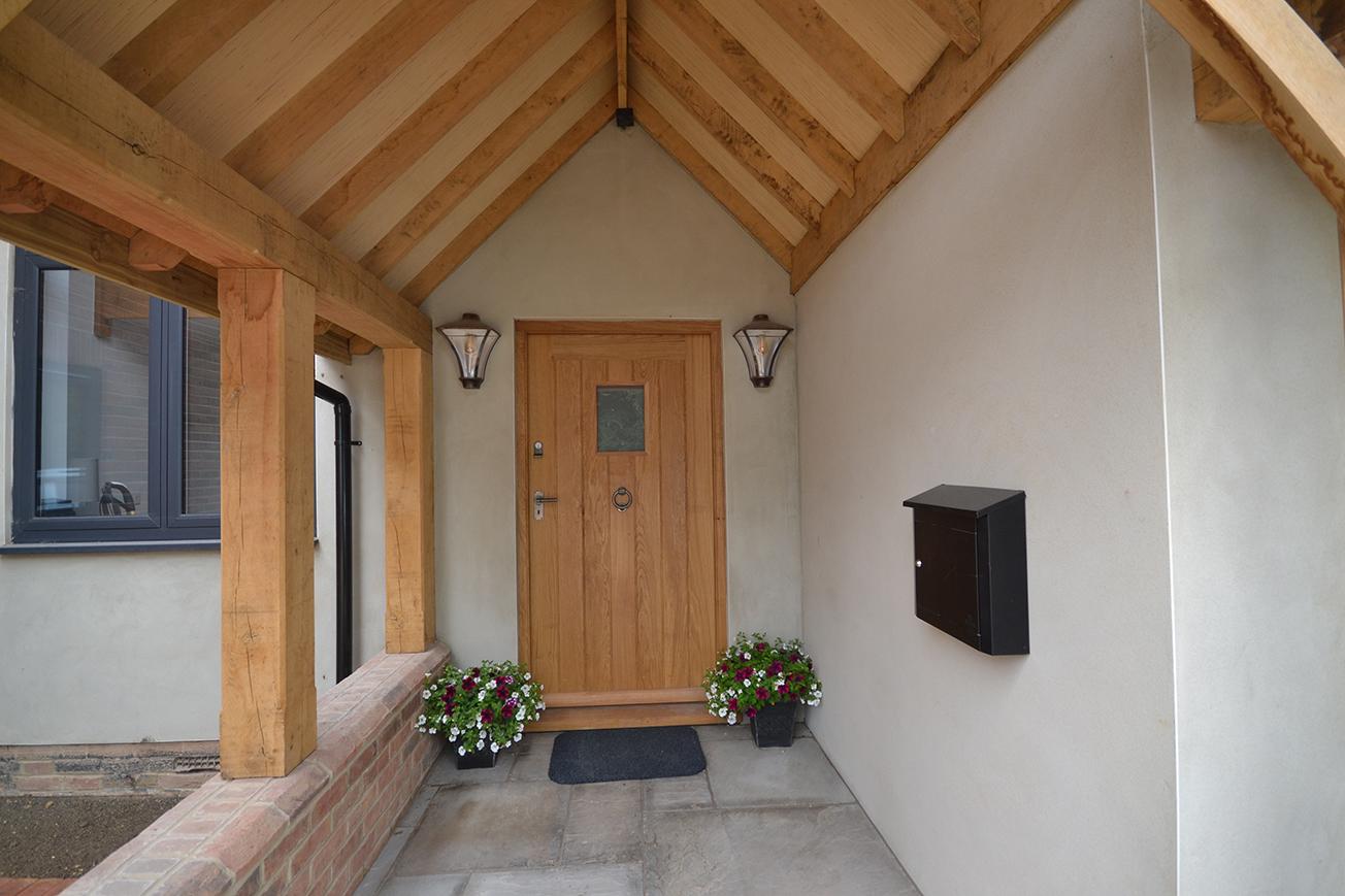 Bespoke Front Door And Door Frame Jla Joinery