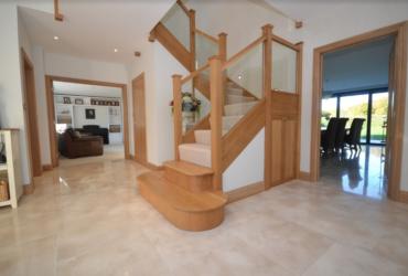 Oak staircase & Landing 1