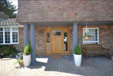 Oak Front Door Selsey After 2
