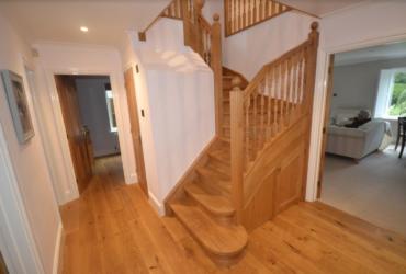 Oak staircase 9